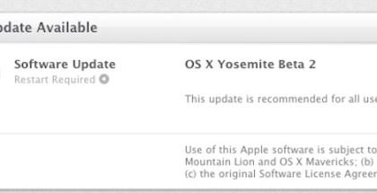 segunda beta pública de OS X Yosemite-iosmac