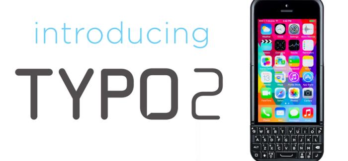 Typo 2, Un teclado físico en iPhone al estilo Blackberry