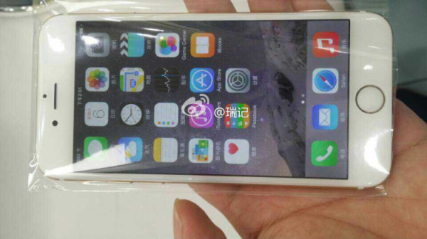 iPhone 6 pantalla de inicio