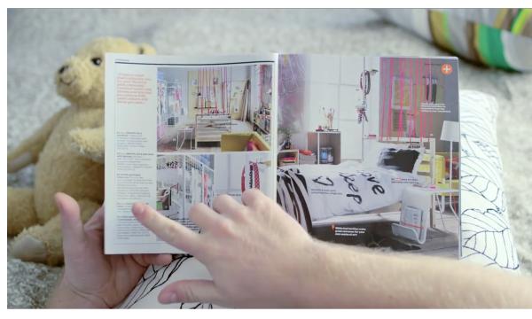 Parodia de Ikea al iPad