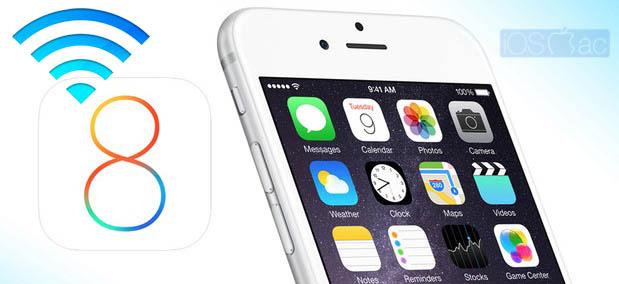 Solución para problemas WiFi en iOS 8 - iosmac