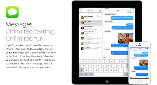 Cómo dejar grupo de iMessage en iOS 8