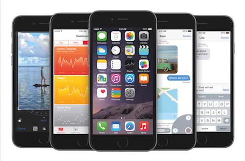 Descarga los nuevos fondos de pantalla de iOS 8
