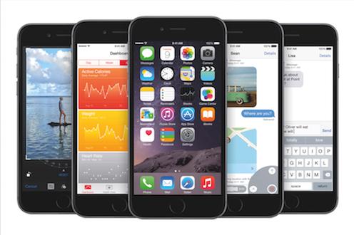 iOS8phone6