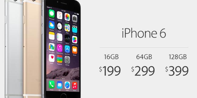 iPhone 6, conoce su precio y disponibilidad