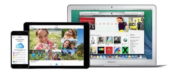 icloud iphone ipad y macbook