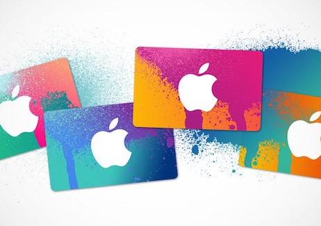 Compra tarjetas de iTunes online