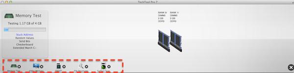 Test gerenal de nuestro Mac