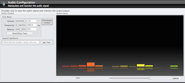 Probando nuestra tarjeta de audio con TechTool v7