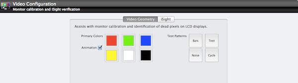 Pruebas que se pueden realizar a la pantalla con TechTool v7