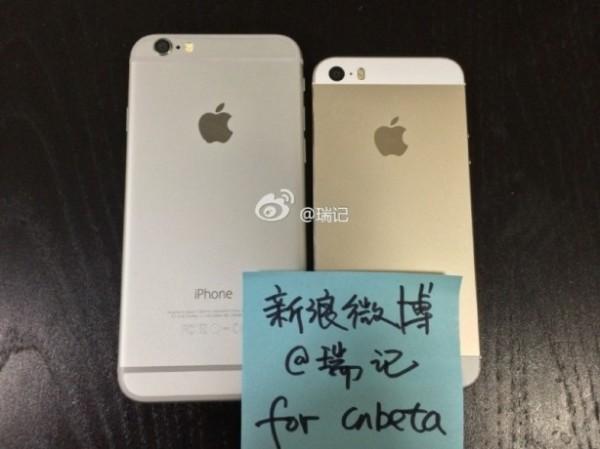 iPhone 6 vs iPhone 5s carcasa trasera