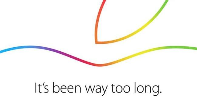 Apple confirma un evento para el día 16 de Octubre