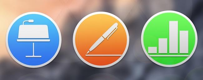 Apple actualiza Pages, Numbers y Keynote para iOS y Yosemite - iosmac