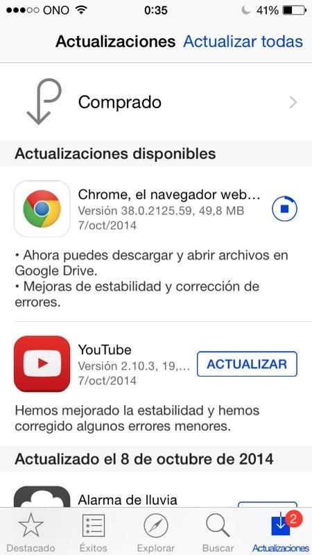 Descargar aplicaciones google