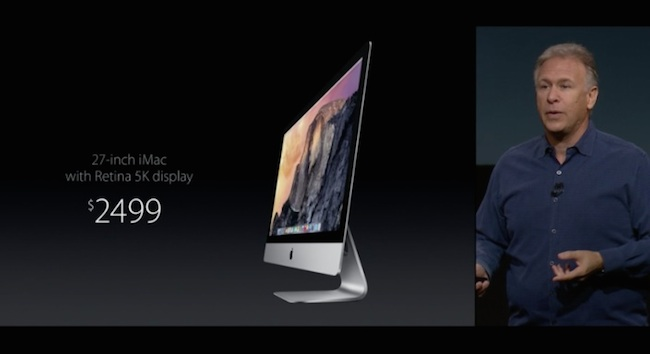 El nuevo iMac de 27 pulgadas pantalla retina 5k