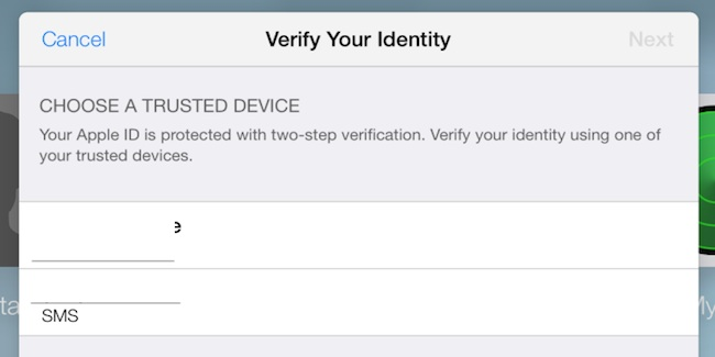 La verificación en dos pasos de Apple - iosmac