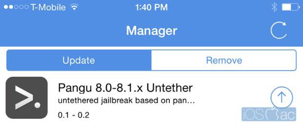 Pangu Jailbreak iOS 8.x se actualiza - iosmac