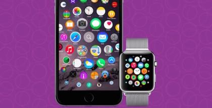 Pantalla de inicio iOS, Cómo se podrían tomar el diseño del Home del Apple Watch