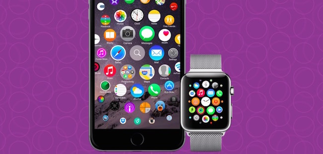 Pantalla de Inicio: Cómo iOS podrían tomar el diseño del Home del Apple Watch
