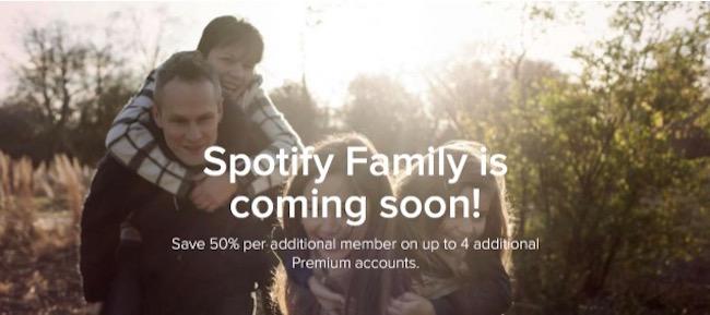 Spotify Family suscripción para toda la familia -iosmac