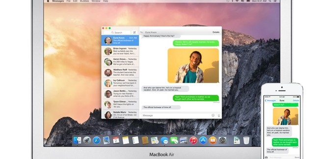 Cómo gestionar los grupos de iMessage en OS X Yosemite