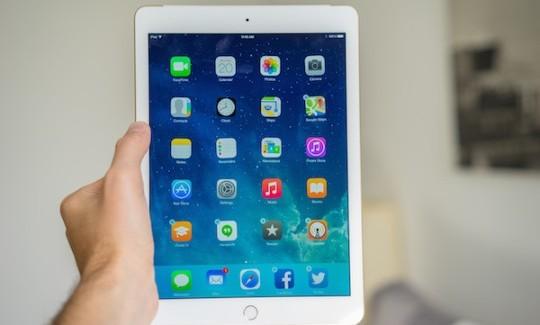iPad Air 2 pasa con nota su primer exámen