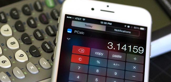 Apple vuelve a admitir los widgets de calculadoras en iOS 8
