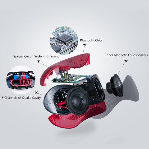 Altavoz Bluetooth NFC Etekcity Roverbeats T12