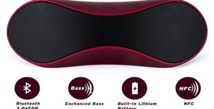 Altavoz Bluetooth NFC Etekcity Roverbeats T12 - iosmac