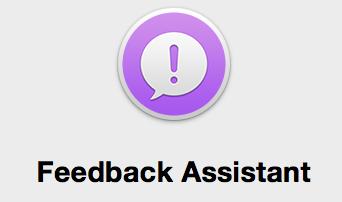 Nuevo icono en el dock, Feedback, para desarrolladores y versiones Beta