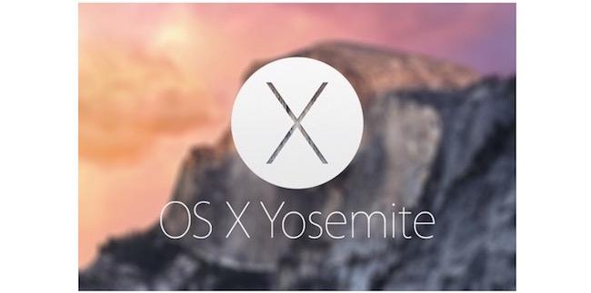 Nueva beta OS X Yosemite 10.10.1 -iosmac