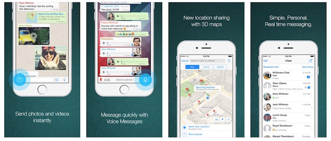 WhatsApp para iPhone 6 por fin disponible - iosmac