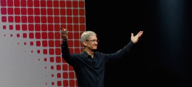 tim cook- keynote