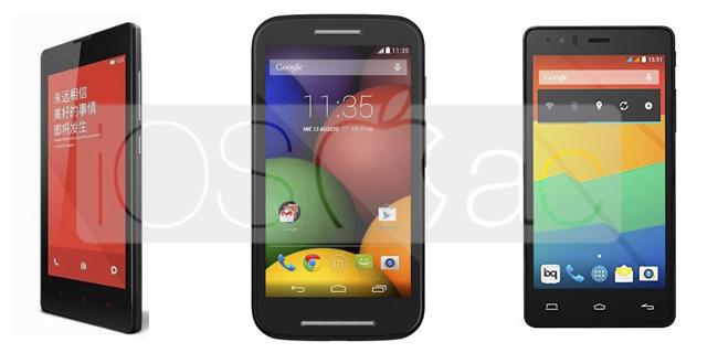 4 smartphones por menos de 200€ para regalar en Navidad