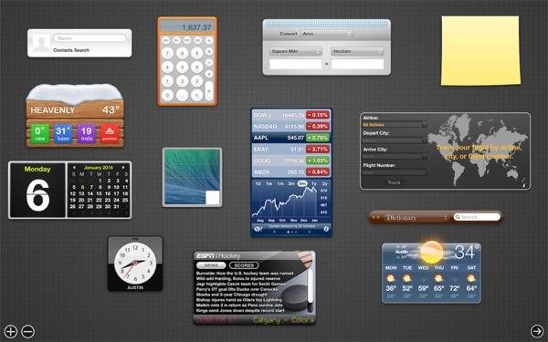 Dashboard-OSX