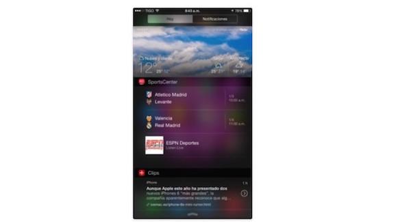 Los mejores Widgets para el centro de notificaciones en el 2014
