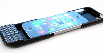 Typo2 el teclado de Blackberry para el iPhone 6 - iosmac