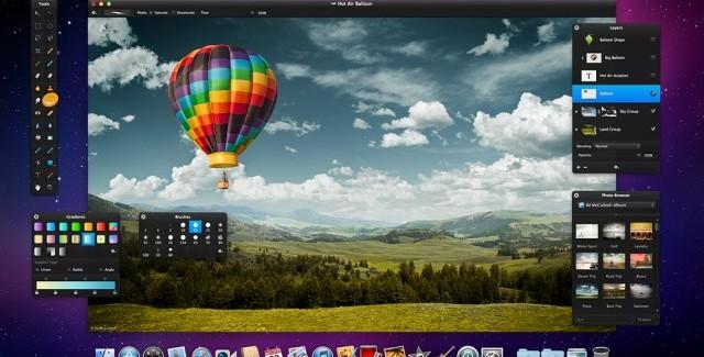 Pixelmator: correcciones y mejoras para Mac