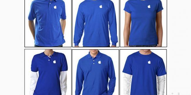 Así son los nuevos uniformes de los empleados de las Apple Store