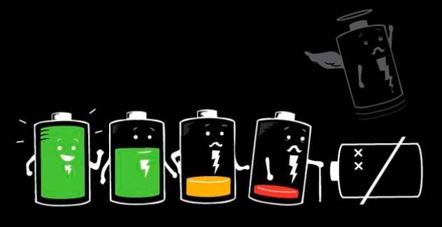 Test de batería de las versiones de iOS 8