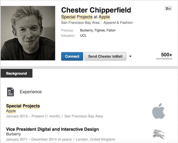Chester Chipperfield - Linkedln