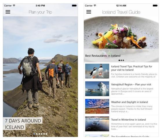 Guía de Islandia-app store - 1