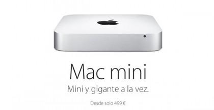 Nuevo Mac mini permite configuraciones adicionales - iosmac