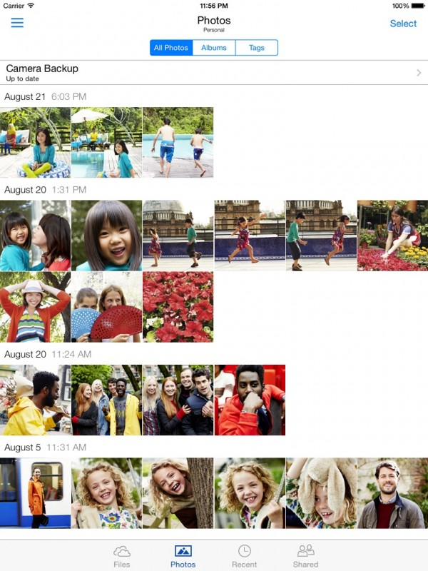OneDrive-50-for-iOS-album-creation-iPad-screenshot
