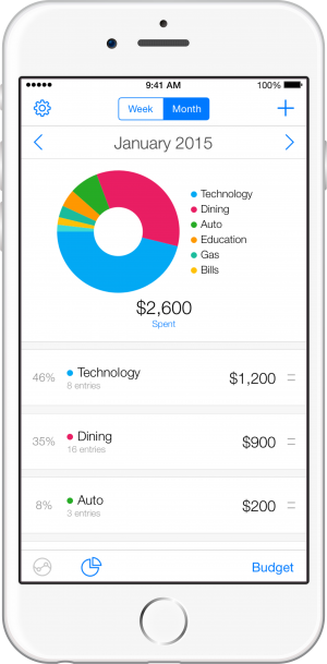 iPhone 6 - Pie Chart