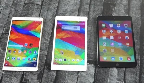 Comparativa: iPad Mini 3, Xperia Z3 Tablet Compact y Galaxy Tab S 8.4