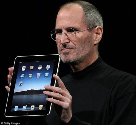 ¿Que es un iPad? Jobs lo presentaba así / What an iPad is. Today we are on celebration