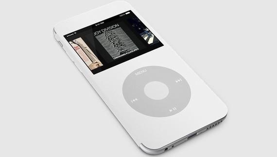 Una funda convertiría el iPhone 6 en un iPod Clásico