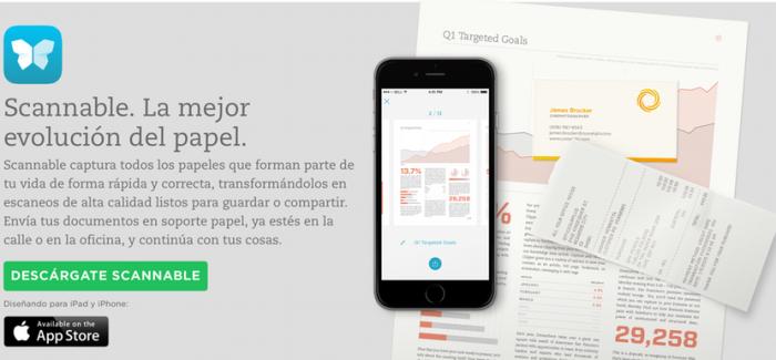 Evernote lanza Scannable para que puedas escanear cualquier documento