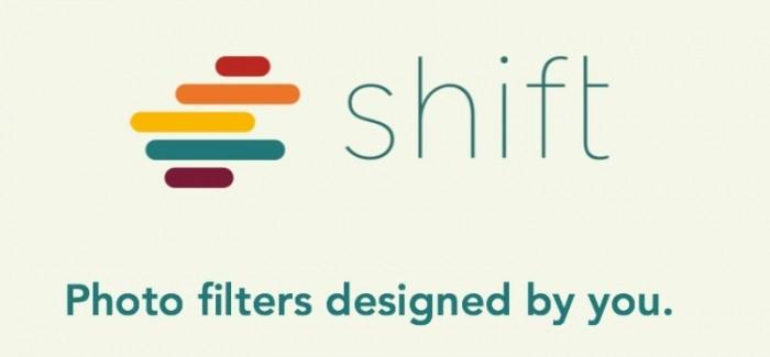 Shift : Tus Filtros de fotografía personalizados